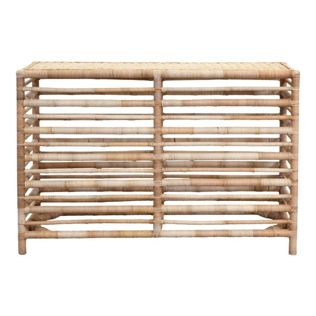 Maritime Console, Natural For Sale