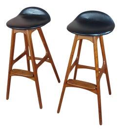 Image of Teak Bar Stools