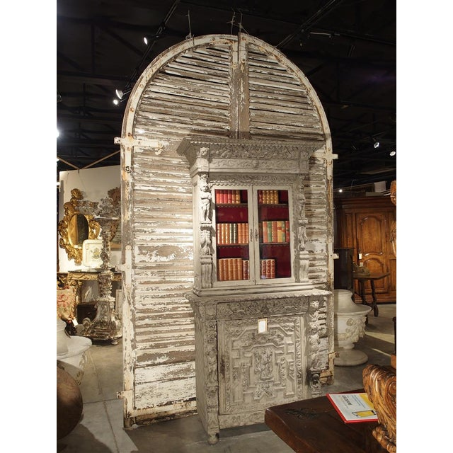 Pair of Large Antique French Door Shutters From a Chateau, 19th Century For Sale In Dallas - Image 6 of 13