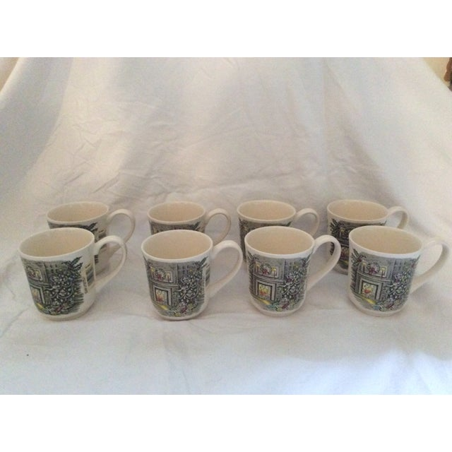 Welcome holiday company this Christmas season with a warm cup of coffee in these 9 oz mugs made in England by Johnson...