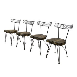 Mid-Century Modern Salterini Dining Chairs- Set of 4 For Sale