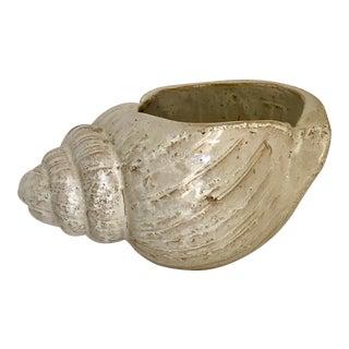 Vintage Pottery Shell Plant Vessel