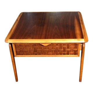 1960s Mid Century Modern C Lane Perception Table For Sale