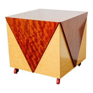 Postmodern Rolling Cabinet or Bar For Sale