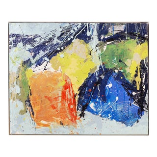 """Abstract """"Rock Away"""" Painting by William Phelps Montgomery, 2019 For Sale"""