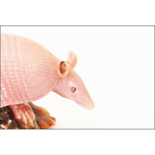 Vintage Pink Armadillo Wax Candle - Image 7 of 11