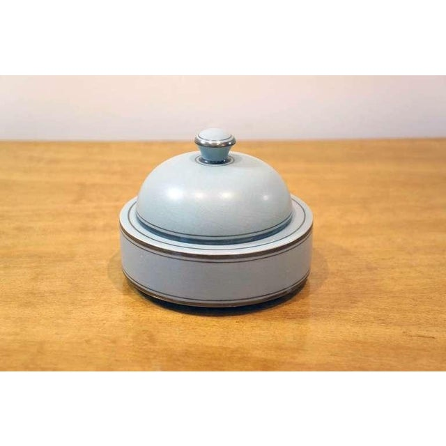 Art Deco Round Lidded Box For Sale - Image 3 of 7