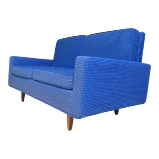 Amazing Florence Knoll Model 23 Sofa Original Upholstery For Sale