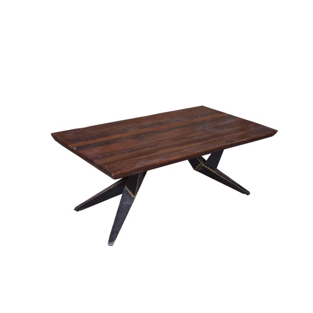 Contemporary Faunia Wooden Coffee Table for Living Room For Sale - Image 3 of 4