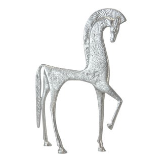 Silver Etruscan Horse Figure For Sale