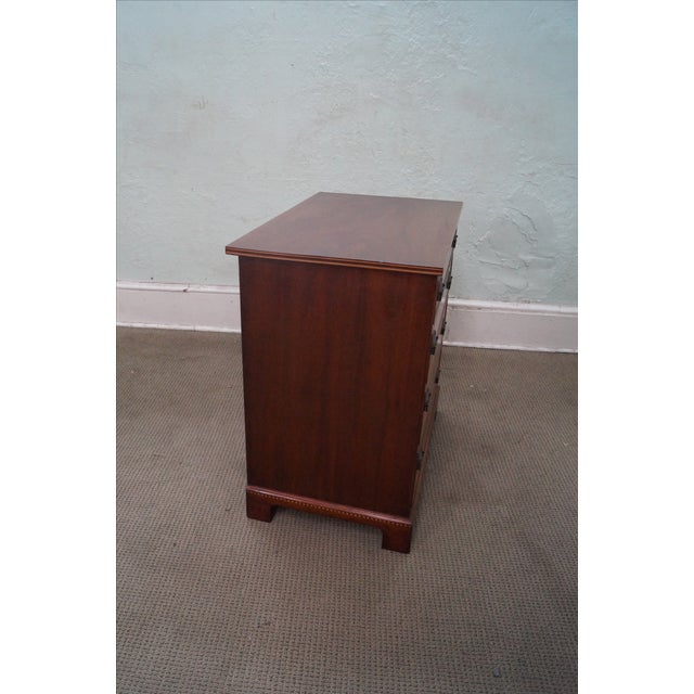 Potthast Solid Mahogany Inlaid Chippendale Chest - Image 3 of 10