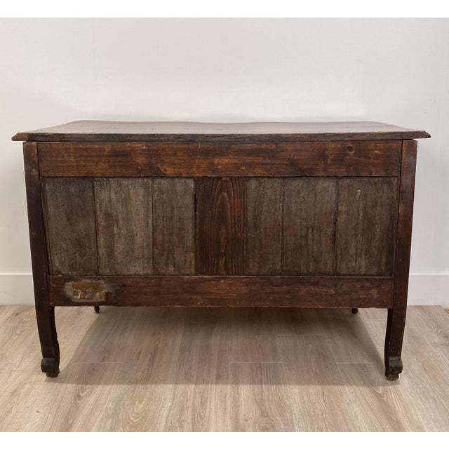 Louis XVI 2 Drawer Commode, Italy Circa 1770 For Sale In San Francisco - Image 6 of 10