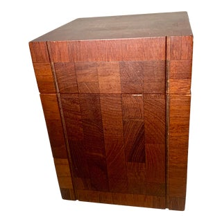 1960s Vintage Dunhill Teakwood Humidor For Sale