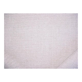 Traditional Andrew Martin Cocoon Cloud Silver Textured Chenille Upholstery Fabric - 7-3/8y For Sale