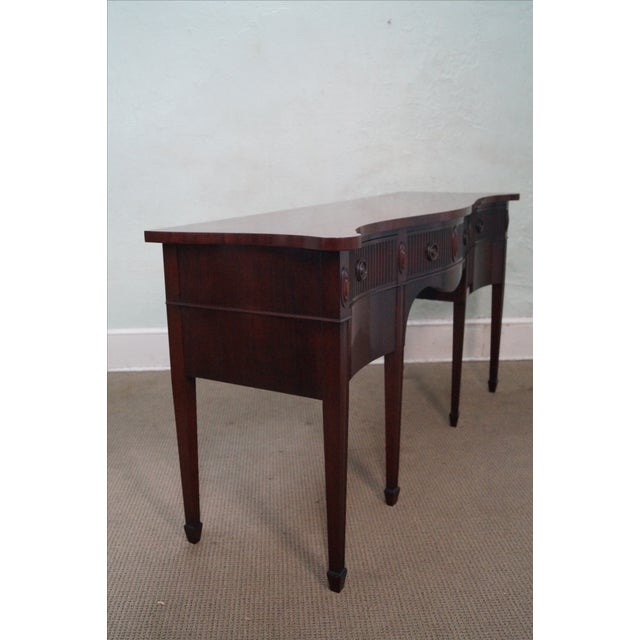 Traditional John Widdicomb Vintage 1940s Mahogany Sideboard For Sale - Image 3 of 10