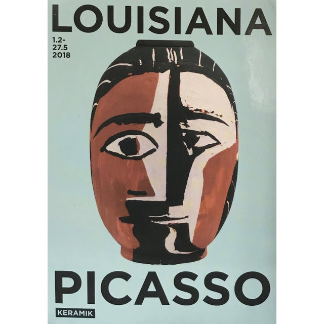 Picasso Reproduction Exhibition Poster For Sale