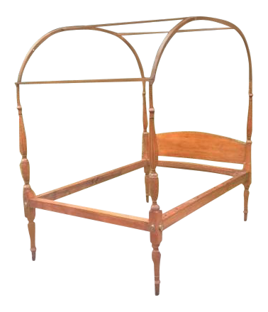 Antique Sheraton Period Canopy Bed
