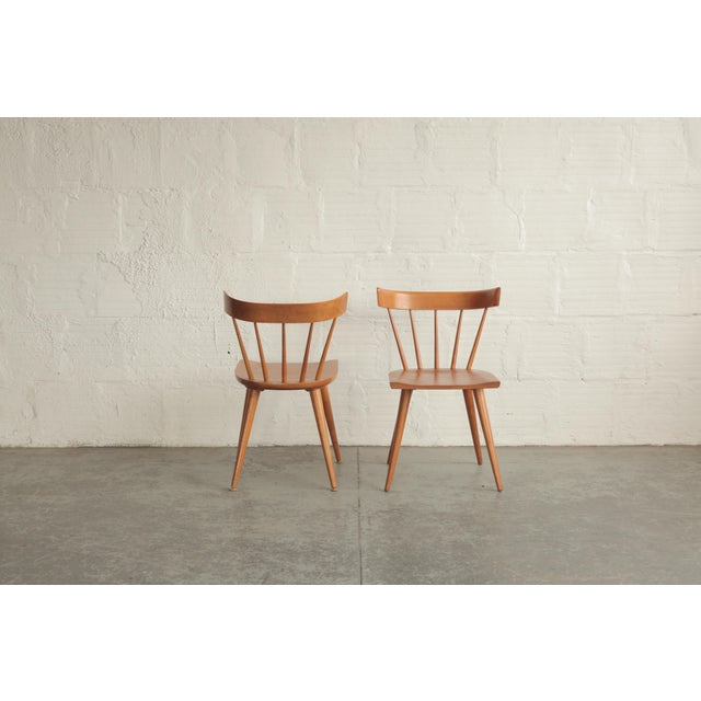 Mid 20th Century Vintage Mid Century Paul McCobb Planner Group Dining Chairs- a Pair For Sale - Image 5 of 6