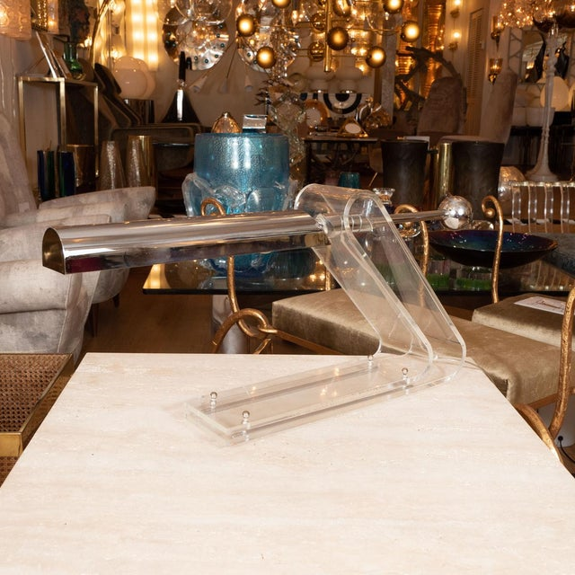Mid-Century Modern 1970s Cantilevered Desk Lamp For Sale - Image 3 of 5