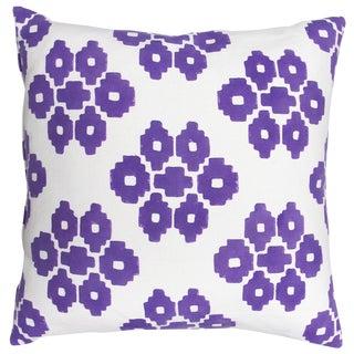 "John Robshaw Purple ""Buna"" Pillows- Pair"