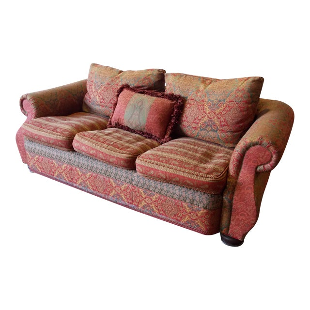 Carol Bolton Boho Chic Sofa for E.J. Victor For Sale