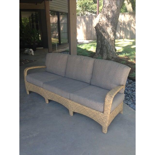 Brown Jordan Outdoor Patio Sofa - Image 3 of 10