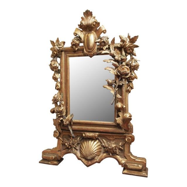 Petite Parcel Gilt Mirror For Sale