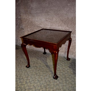 Vintage Chippendale Drexel Mahogany Side Tables - a Pair Preview