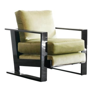 Lacquer Jean Royere Style Armchair