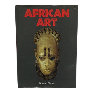 "Coffee Table Display Book ""African Art"" by Duncan Clarke - 1995 For Sale"