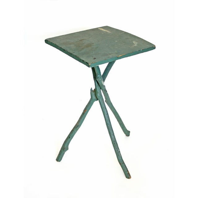 Vintage 3 Legged Branch Table - Image 1 of 4