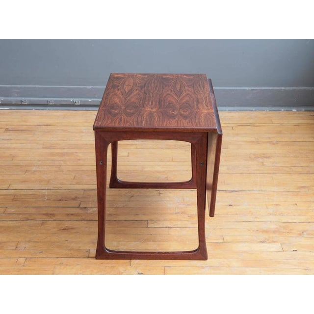 Folding Rosewood Occasional Table by J. Ingvard Jensen - Image 3 of 5