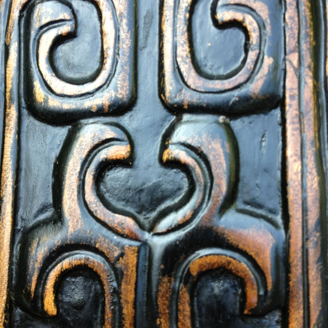1830s Antique Qing Dynasty Teak Camphor Wood Side Chair For Sale - Image 12 of 13
