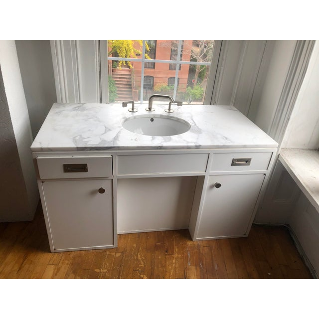 Modern Waterworks Sink/Vanity Fixture For Sale - Image 13 of 13