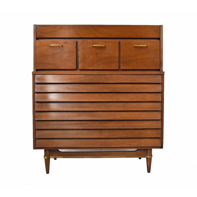 American of Martinsville Dania Highboy Chest - Image 1 of 10