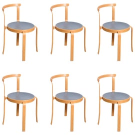 Image of Sky Blue Side Chairs