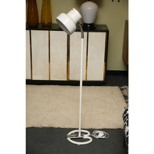 """White Pair of Anders Pehrsson """"Bumling"""" Floor Lamps for Atelje Lyktan For Sale - Image 8 of 12"""
