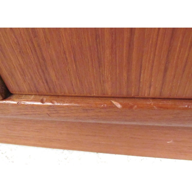 Mid-Century Modern Teak Gentleman's Chest For Sale - Image 11 of 11