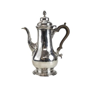 Charles Wright London George III Sterling Silver Coffee Pot