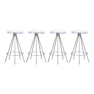 Jamaica Counter Stools by Pepe Cortés Manufactured by Amat-3 for Knoll - Set of 4 For Sale