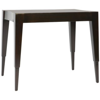 Johan Tapp Dark Walnut Lacquer Lamp Table For Sale