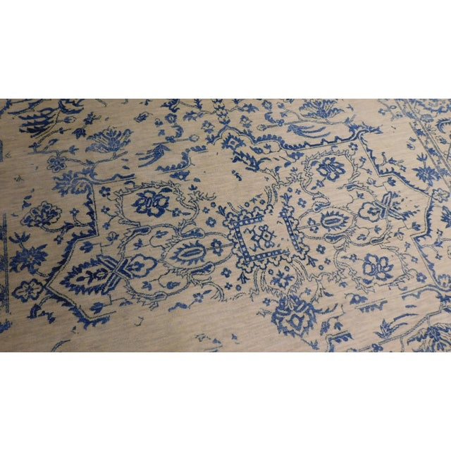 """Erased Hand-Knotted Luxury Rug - 7'11"""" X 9'10"""" - Image 2 of 9"""