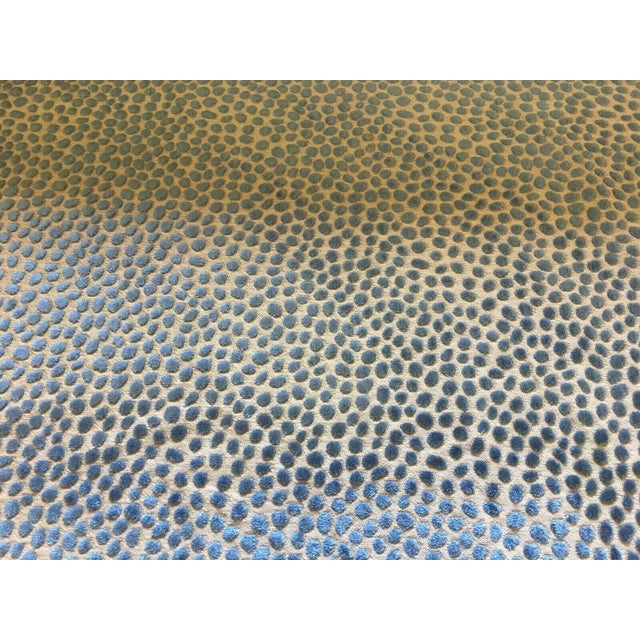 This is a beautiful velvet by GP & J Baker in rich blue on a natural/tan base. Cosma is from the Foxwood collection. It is...
