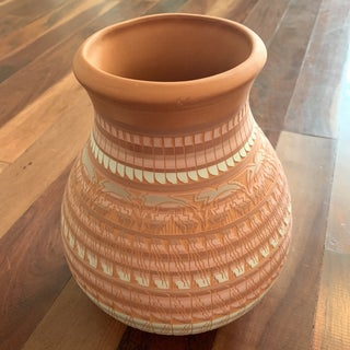 1990s Vintage Navajo Pottery Signed Vases- A Pair Preview