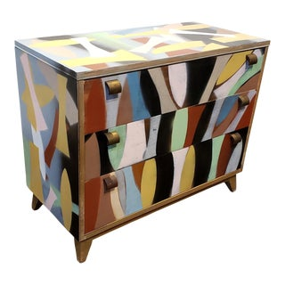 Contemporary Memphis Style Art Furniture by Artist Lionel Lamy For Sale