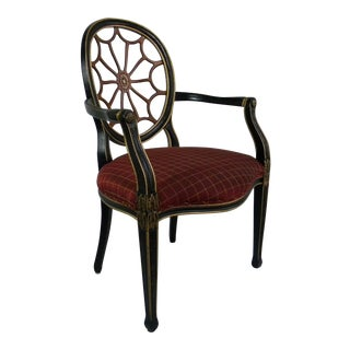 Hepplewhite Style Spider-Back Chair For Sale