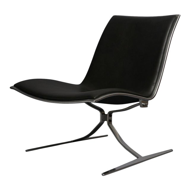 skater chair by preben fabricius and jorgen kastholm For Sale