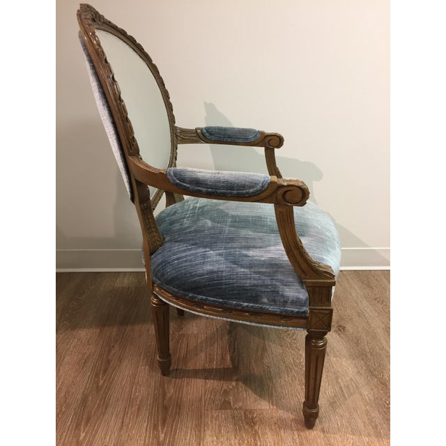 Vintage Louis XIV Fauteuil Chair - Image 2 of 5