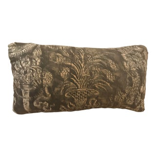 Mid-Century Modern Custom Fortuny Pillow For Sale