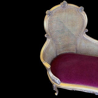 Louis XV French Style Gold Chaise Lounge Preview